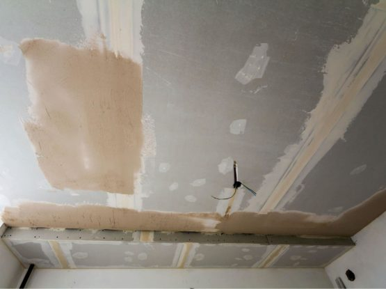 Prepping a wall for replacement drywall in Ermington